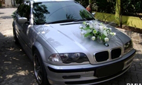 Weeding Car BMW Solo
